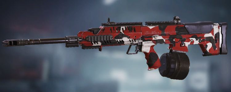 UL736 skins Red in Call of Duty Mobile - zilliongamer