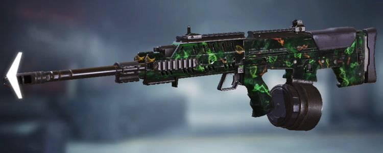 UL736 skins Zombie Gene in Call of Duty Mobile - zilliongamer