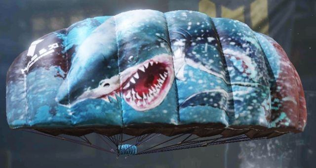 Parachute skins: Deep Shark in Call of Duty Mobile - zilliongamer