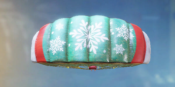 COD Mobile Parachute skin: Holidays - zilliongamer