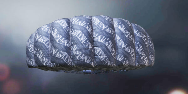 COD Mobile Parachute skin: Plated Gray - zilliogamer
