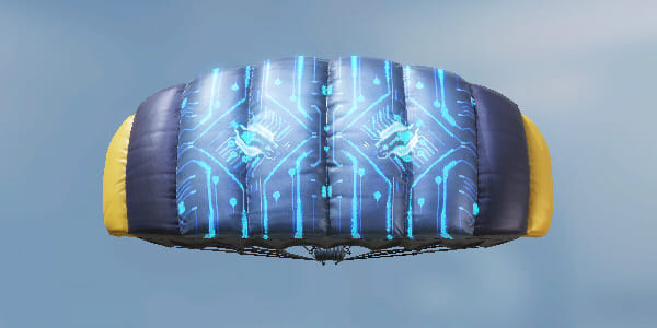 COD Mobile Parachute skin: Space Station - zilliogamer