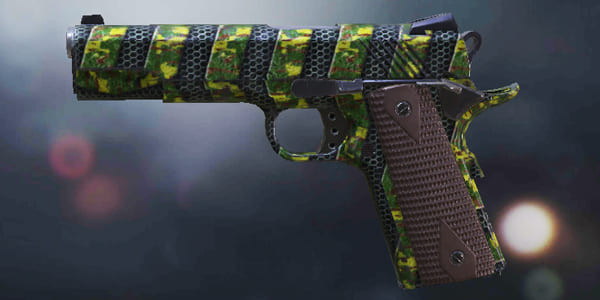 COD Mobile MW11 Plated Green - zilliongamer