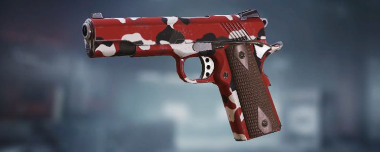 MW11 skins Red in Call of Duty Mobile - zilliongamer