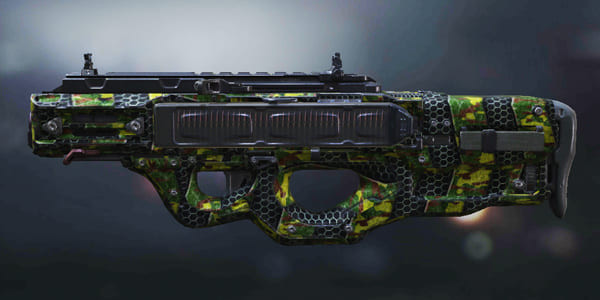 COD Mobile Cordite skin: Plated Green - zilliongamer