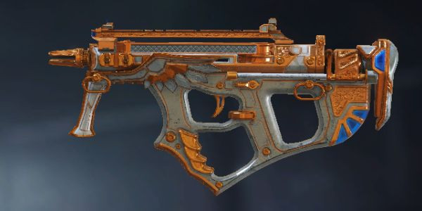 PDW-57 SMG Skin: Medieval in Call of Duty Mobile.