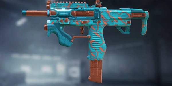 Pharo Skin: Turquoise in Call of Duty Mobile.