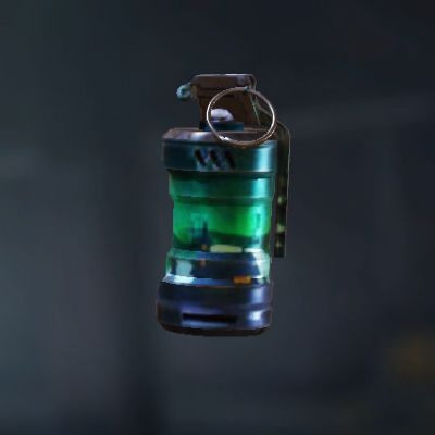 Aurora Borealis Smoke Grenade skin in Call of Duty Mobile