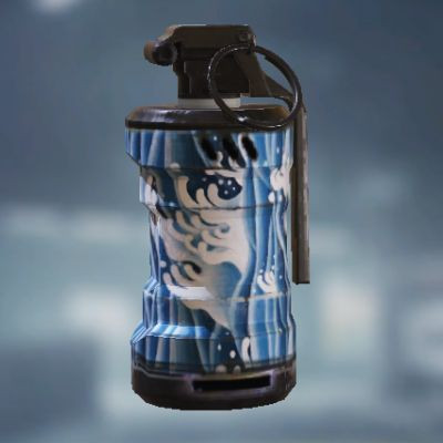Blue Wave Smoke Grenade skin in Call of Duty Mobile