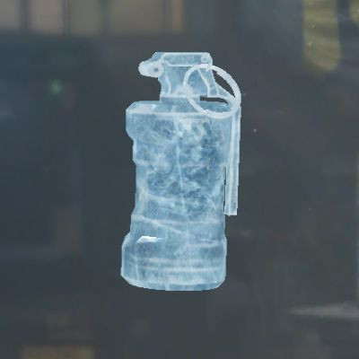 Glacier Smoke Grenade skin in Call of Duty Mobile