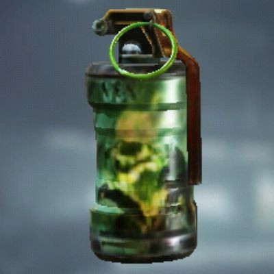 Headless Rider Smoke Grenade skin in Call of Duty Mobile