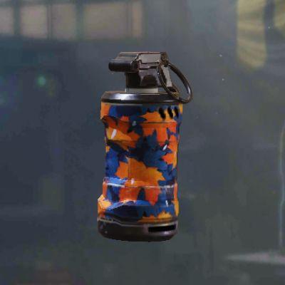 Maple Leaves Smoke Grenade skin in Call of Duty Mobile