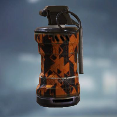 Yellow Triangle Smoke Grenade skin in Call of Duty Mobile