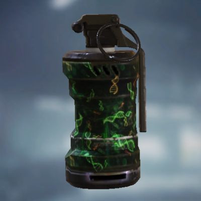 Zombie Gene Smoke Grenade skin in Call of Duty Mobile