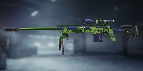COD Mobile DL Q33 Black Lime skin - zilliongamer