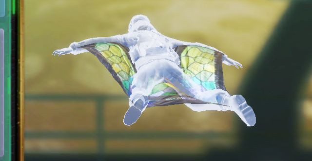 Wingsuit Stained Glass in Call of Duty Mobile - zilliongamer