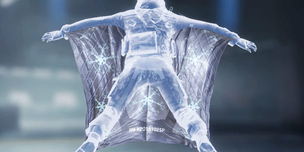 COD Mobile Wingsuit Brain Ice Crystal - zilliongamer