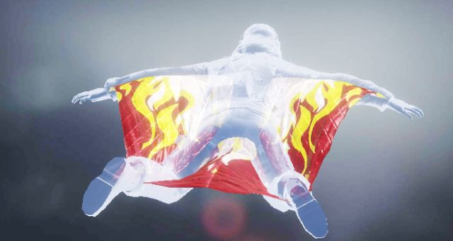 Wingsuit skin: On Fire in Call of Duty Mobile - zilliongamer