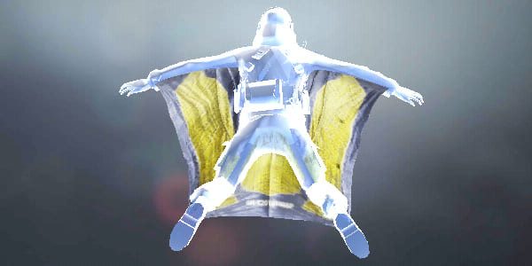 COD Mobile Wingsuit Yellow Fabric - zilliongamer