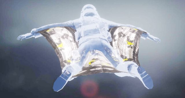 Wingsuit skin: Yellow Snow in Call of Duty Mobile - zilliongamer
