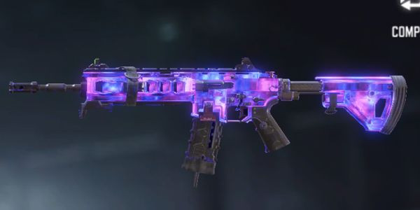 Darm matter ICR-1 Skin in Call of Duty Mobile.