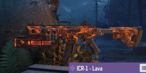 Lava ICR-1 Skin in Call of Duty Mobile.