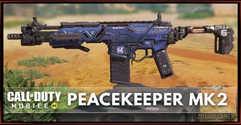 Peacekeeper MK2 Stats, Attachment, & Skin
