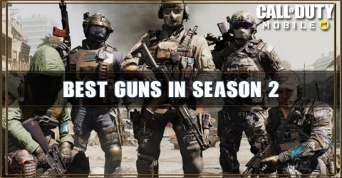 Call of Duty Mobile Best Guns in Season 2