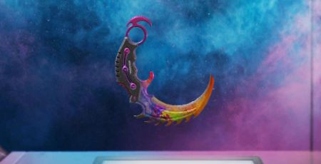 Call of Duty Mobile: Karambit Skin: Color Burst