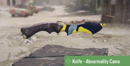 Call of Duty Mobile: Knife Skin: Abnormality