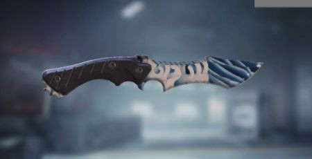 Call of Duty Mobile: Knife Skin: Blue Wave