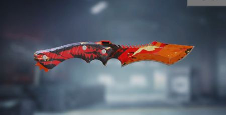 Call of Duty Mobile: Knife Skin: Red Dragon