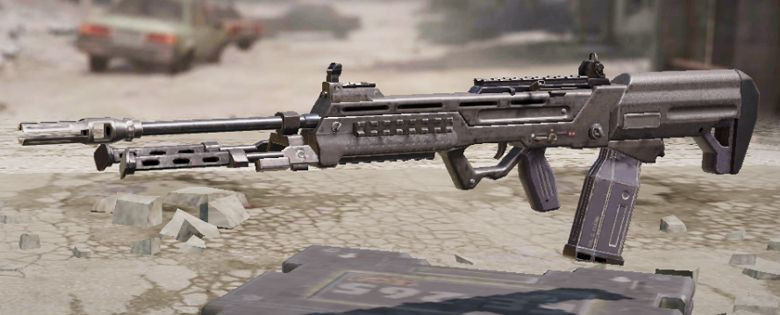 S36 Light machine gun in Call of Duty Mobile.