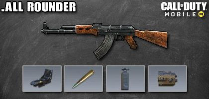COD Mobile AK-47 Best Attachments - All Rounder - zilliongamer