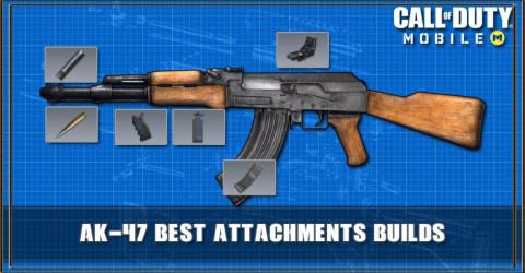COD Mobile AK-47 Best Attachments Builds