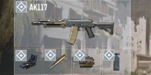 COD Mobile AK117 Builds: All Roundr attachment guide.