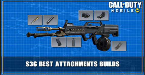 COD Mobile S36 Best Attachments Builds