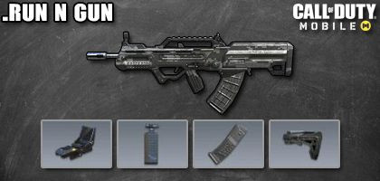 COD Mobile Best Attachments for Type 25: Run n Gun - zilliongamer