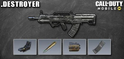 COD Mobile Best Attachments for Type 25: Destroyer - zilliongamer