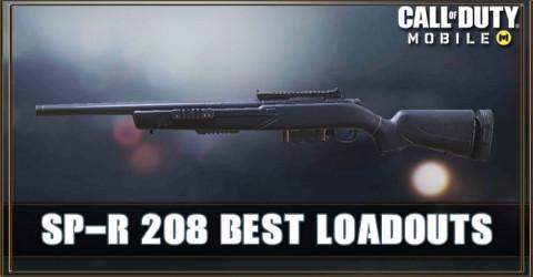 SP-R 208 Best Loadout Attachments & Skin