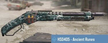 HS0405 Skins list in Call of Duty Mobile.