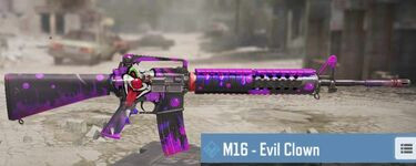 M16 Skins List Call of Duty Mobile