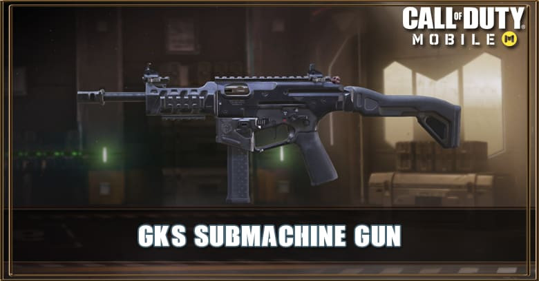 Gks Smg Call Of Duty Mobile Zilliongamer