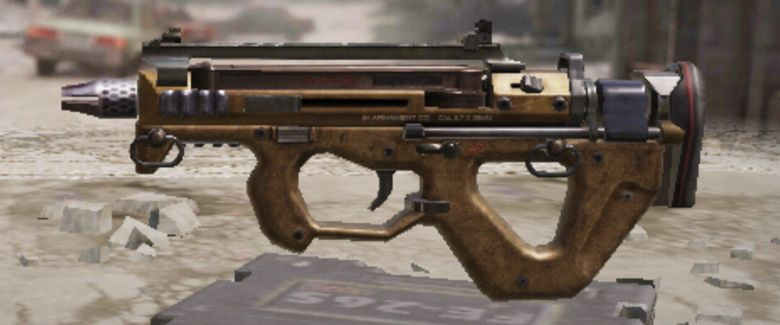 PDW-57 Submachine Gun in Call of Duty Mobile.