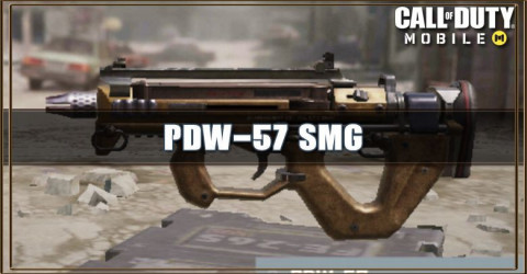 PDW-57 Stats, Attachment, & Skin