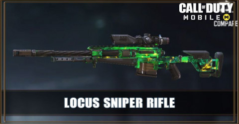 Locus Sniper Rifle Call Of Duty Mobile Zilliongamer