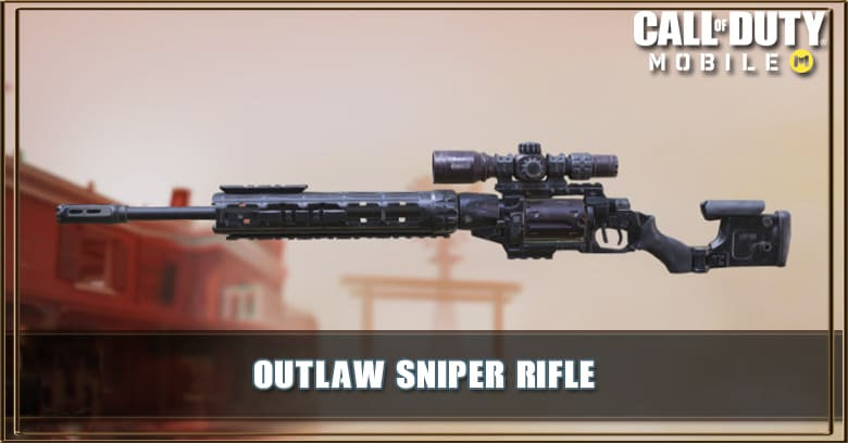 Outlaw Sniper Rifle Call Of Duty Mobile Zilliongamer