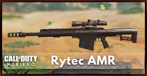 Rytec AMR loadout, Attachments, & Skin