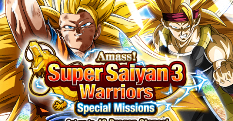 Amass! super saiyan 3 warriors! special missions!