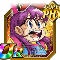 Full-power salutation arale norimaki